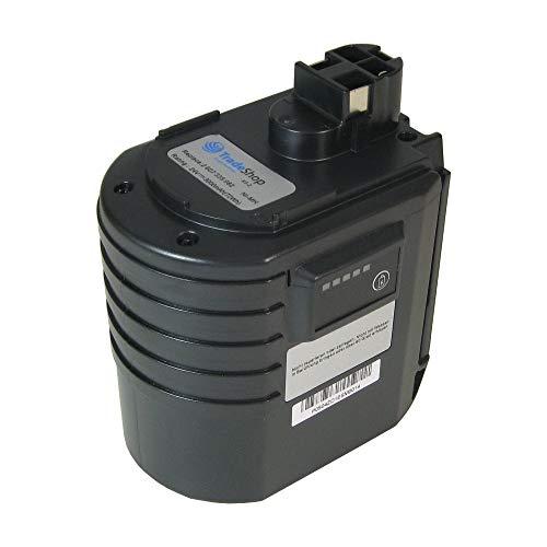 Trade-Shop–Batería de Ni-Mh para herramientas 24V 3000mAh, equivalente a Würth WA l50-b-24V wa24V 07023009240702300924apbo/SL 24V apbo/sl24V ABH 20SLE ABH20de SLE ABH 20sle 0702320207023202, BTI BHE-01de de 24VRE BHE24VRE Bosch BAT01924VRE