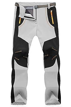 TBMPOY Men's Outdoor Pants with Belt