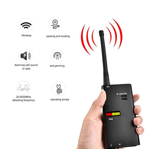 Great Deal! TANCEQI Signal Detector GSM Amplifier Detector Bug Devices Wireless Frequency Scanner GP...