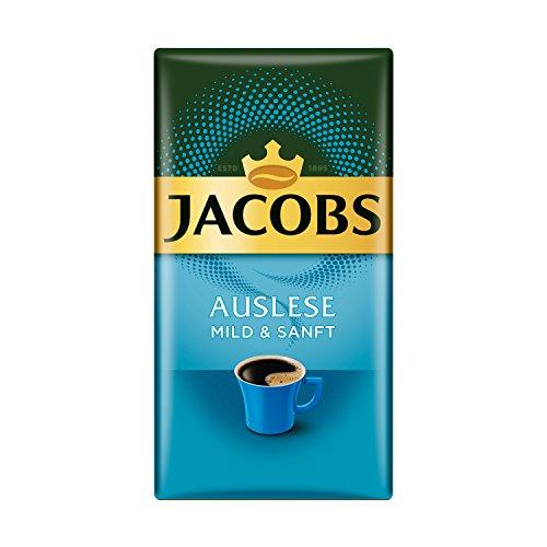 Jacobs Filterkaffee Auslese: Mild und Sanft, 500 g gemahlener Kaffee