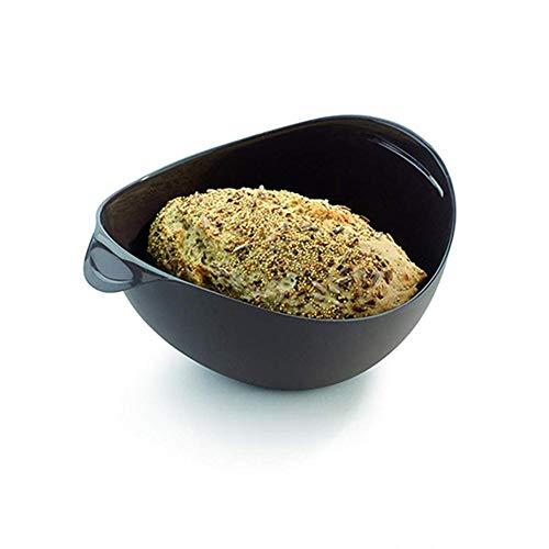 Silikon Brot Backen Mikrowelle Dampfkorb Safe ungiftig Fischfutter Mikrowelle Wven Dampf Gericht