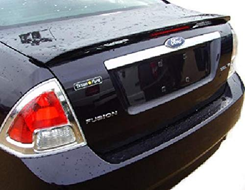 Accent Spoilers - Spoiler for a Ford Fusion Factory Style Spoiler-Charcoal Beige Metallic Paint Code: T7