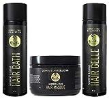 Rizos: Cashmere Caviar Hair Bath, Mascarilla y Gel para el cabello
