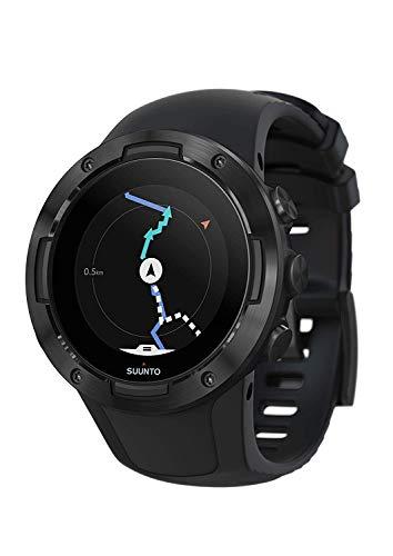 Suunto 5 Orologio sportivo leggero e compatto con GPS, Resoconto attività e recupero 24 ore su 24, 7 giorni su 7, Cardiofrequenzimetro da polso