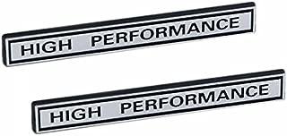 HIGH PERFORMANCE Racing Engine Emblems in Chrome & Black - 5
