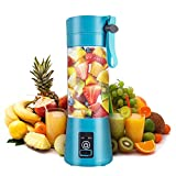 Personal Size Blenders Portable Blender, Personal Size Blender Shakes and Smoothies Mini Juicer Cup USB Rechargeable