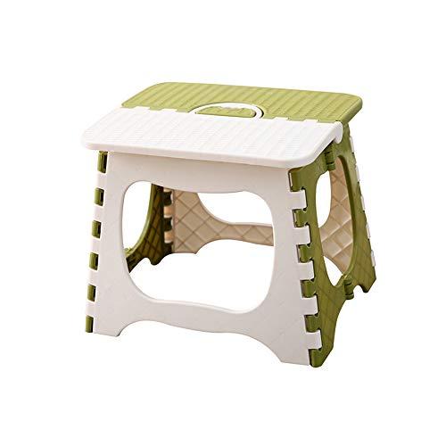Folding Chairs Portable épaissi Enfants Tabouret Pliant en Plein air en Plastique Mini Banc Tabouret Pliant