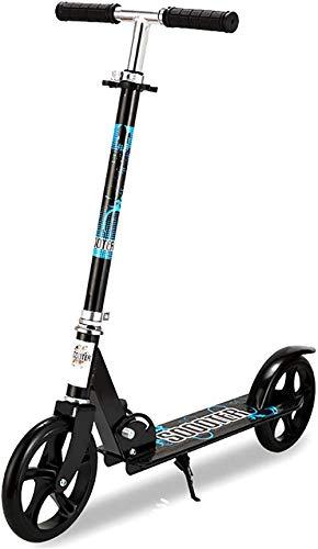Scooters Kick Scooter de altura ajustable ultraligero Kick Scooter Commuter Sistema plegable de liberación rápida Marco de aluminio el mejor regalo para adolescentes
