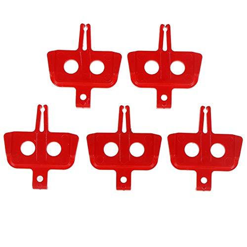 YL 5pcs / porción de Disco hidráulico Pastillas de Freno Frenos Espaciador...