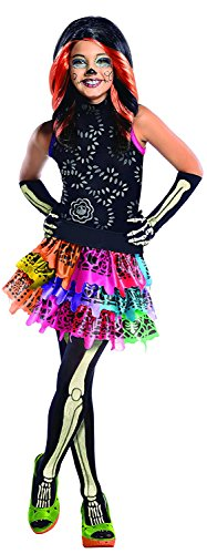 Monster High Skelita Calaveras Kinder Kostüm Lizenzware L