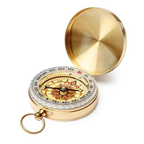 Dragon Eight Clamshell Compass Camping Gear Survival Gear Waterproof Luminous Compass