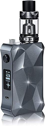 E Zigarette Box Mod Kit FREDEST 160W 18650 * 2 5000mAh Akku 0,2ohm 2ml Tank Verdampfer Refill Sub Ohm E Shisha Set Ohne Nikotin