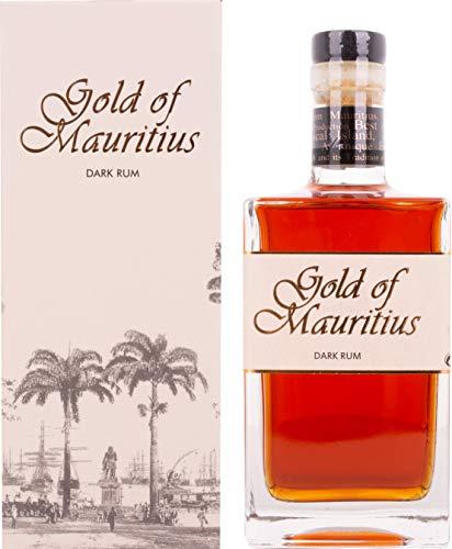 Gold of Mauritius Dark Rum 40% Vol. 0,7 l + GB