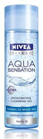 Nivea Aqua Sensation - Gel Nettoyant Extra Fraîcheur peaux normales à mixtes