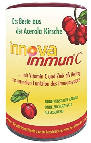 innova immun® Vitamin C aus der Acerolakirsche  Kautabletten für unterwegs