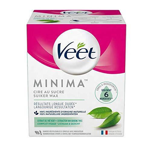 Veet Cire au Sucre Minima Thé Vert 250 ml