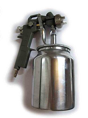 Pistola pintura con depósito inferior OreWork para compresor de aire - Aerógrafo – Ref.: 399351