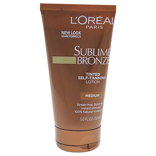 L'Oreal Paris Sublime Bronze Tinted Self-Tanning Lotion, Medium Natural Tan, 5.0 Fluid Ounce by L'Oreal Paris