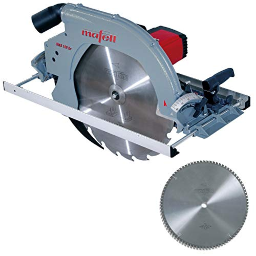 Mafell Handkreissäge MKS 185 Ec 924801 + HM-Blatt 450x3,4/3,0x30mm Z86 Sandwich