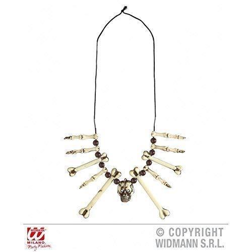 Lively Moments Halskette / Knochenkette / Kette mit Knochen und Schädel / Totenschädel