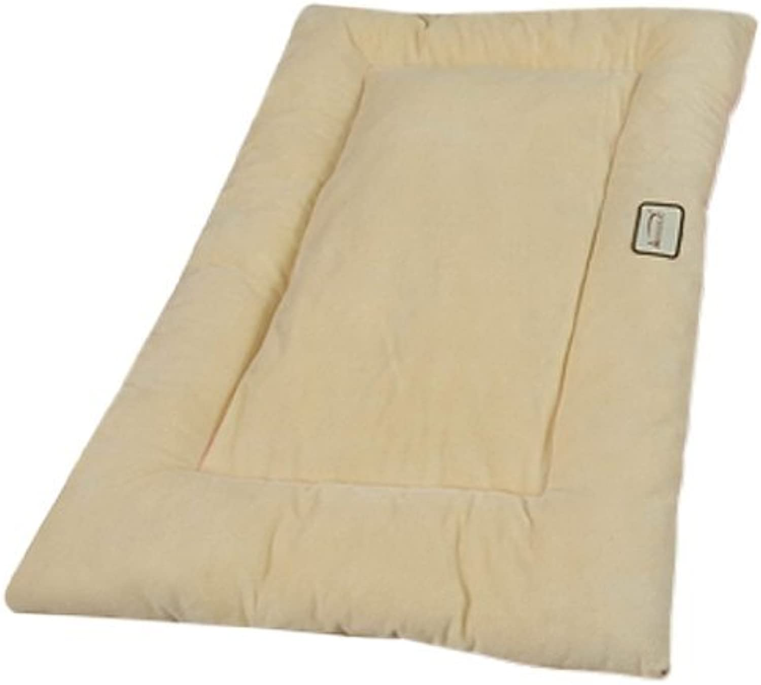 Armarkat Pet Bed Mat 27Inch by 19Inch by 2.5Inch M01Medium, Beige by Armarkat
