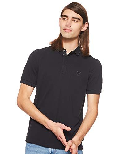 Armani Exchange Herren Elegance Poloshirt, Blau (Navy 1510), X-Small (Herstellergröße:XS)
