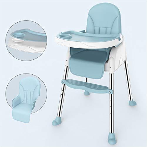Liuxiaomiao Baby kinderstoel 3 In 1 converteerbare moderne baby kinderstoel oplossing hoge stoel peuters voor baby's en baby's met kussen voor eettafel