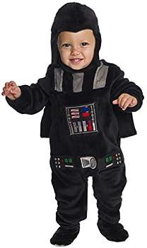 Star Wars Classic Darth Vader Deluxe Plush Costume Romper Toddler
