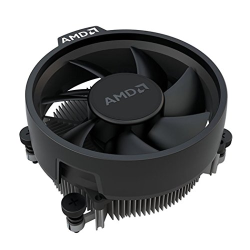 AMD Wraith Stealth Socket AM4 4-Pin Connector CPU Cooler with Aluminum Heatsink & 3.93-Inch Fan (Slim)