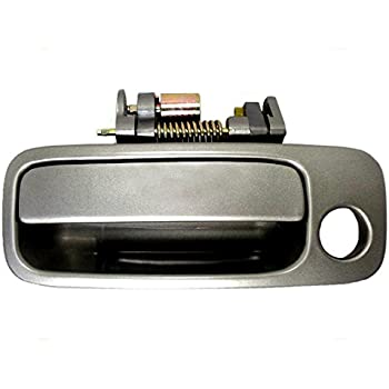 Amazon Com Drivers Front Outside Outer Gray Door Handle Replacement For Toyota Camry Lexus Es300 6922033041b0 Automotive