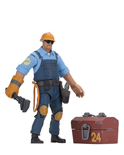 NECA - Team Fortress 2 - 7' Scale Action Figure - Series 3.5 BLU Engineer