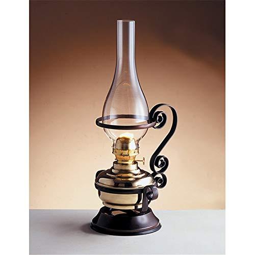 Wunderschöne Petroleumlampe aus echtem Messing Jugendstil Antik Design Öllampe Tischleuchte MARZO