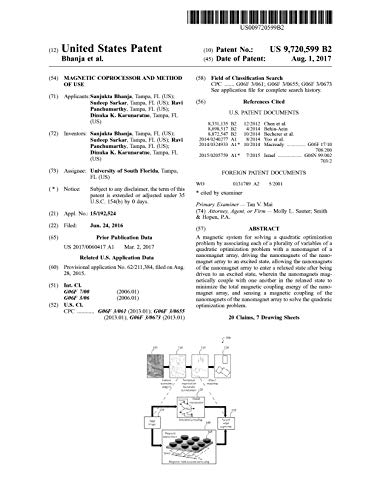 Magnetic coprocessor and method of use: United States Patent 9720599 (English Edition)