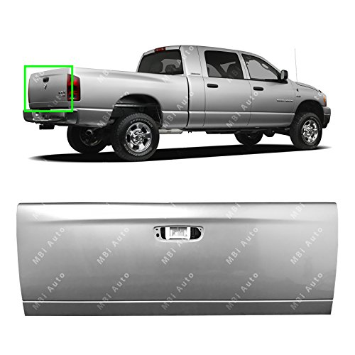 MBI AUTO - Painted PS2 Silver Metallic Steel Tailgate Shell for 2002-2009 Dodge Ram 1500 2500 3500 02-08, CH1900121