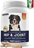 Pet Deluxe Italia - Compresse Masticabili - Collagene, Glucosamina per Cani - Condroprotettore Cane - Integratori per Cani - Cura Articolazioni Cane