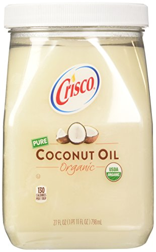 Crisco Organic Coconut Oil, 27 Fluid Ounce