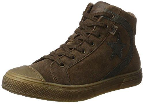 Bisgaard Unisex Schnürschuhe Hohe Sneaker, Braun (306-1 Praline), 36 EU