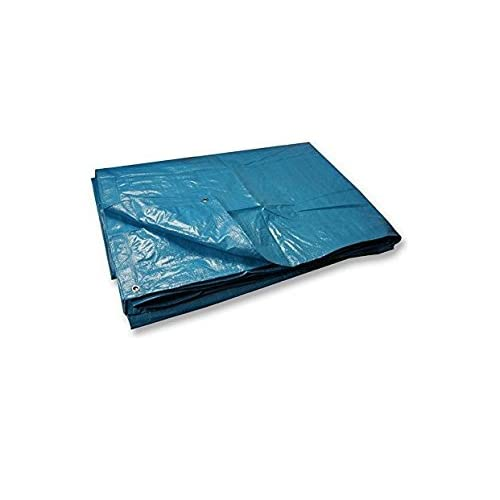 Invero® Multi-Purpose Reversible Waterproof, UV Resistant and Rot-Proof Polyethylene Tarpaulin - (12 x 10 Foot)