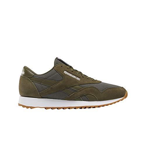 Reebok Herren Sportschuhe Classic Nylon Ripple MU Sneaker Grün DV6764 Oliv 788325