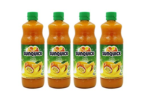 Sunquick Cordial Tropical 700 ml 4 Flaschen