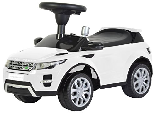 Ricco 348 ' Range Rover Evoque Licensed Ride on Push Along Sliding Toy Sports Racing Car