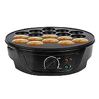 ワッフルメーカー、タコボールマルチベーカー電気クッキーたこ焼きマシン朝食たこ焼きメーカー、たい焼きメーカーたこ焼きパン電気ガウファー