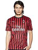 PUMA Herren ACM Home Shirt Replica SS with Trikot, Tango Red Black, S