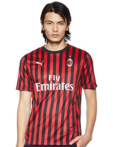 Puma AC Milan, Maglia Calcio Uomo, Rosso (Tango Red Black), M