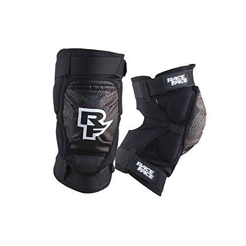 RaceFace Dig–Rodillera, Color Negro - Negro, tamaño Medium