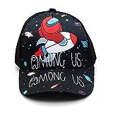 KKP Among Us Gorra de Beisbol, Gorra Unisex Juego Entre Nosotros, Sombrero Infantil Divertido Cap para niños