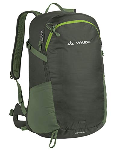 VAUDE Wizard 18+4 Sac à dos 20-29L Olive FR: Taille Unique (Taille Fabricant: One Size)
