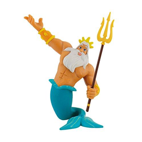 Bullyland 12354 - Spielfigur, Walt Disney Arielle die Meerjungfrau, Triton, ca. 10 cm