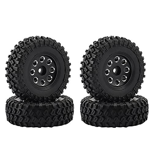 WYDM 4PCS 1.0 49X18mm - Juego de neumáticos de Rueda para 1/24 RC Car SCX24 90081 Pieza de actualización, 1