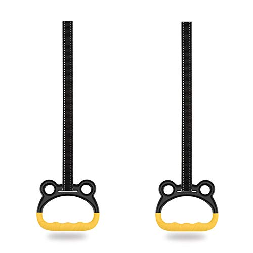 FLBTY Child Gymnastic Rings, Gymnastics Equipment for Home, Stretching Promotes Heightening Pull Ring, Home Fitness Training Equipment, Safe Bearing Capacity 400KG